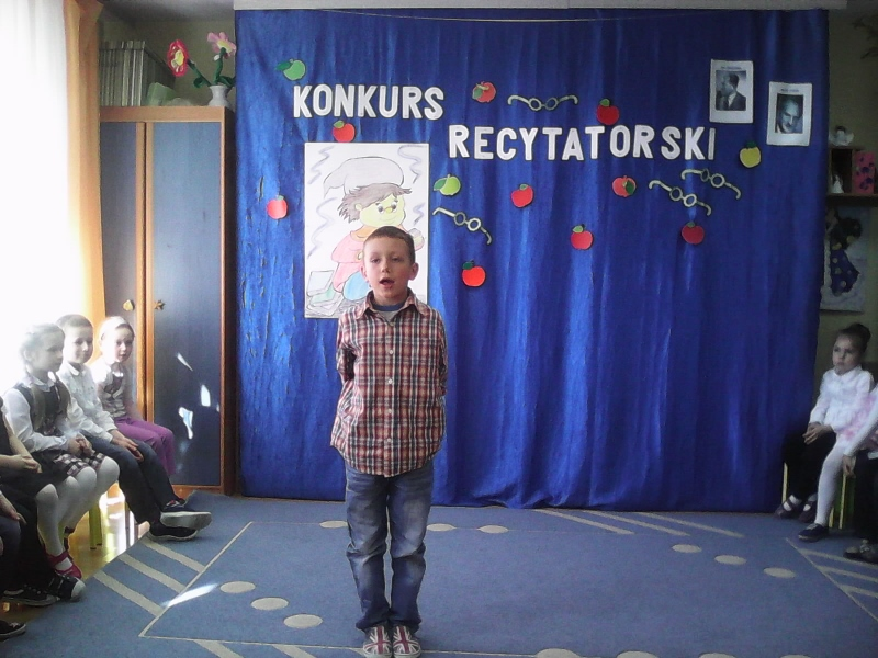 Konkurs Recytatorski Szkoła Podstawowa W Pierzchnicy